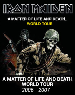 a matter of life and death tour 2006 2007 1