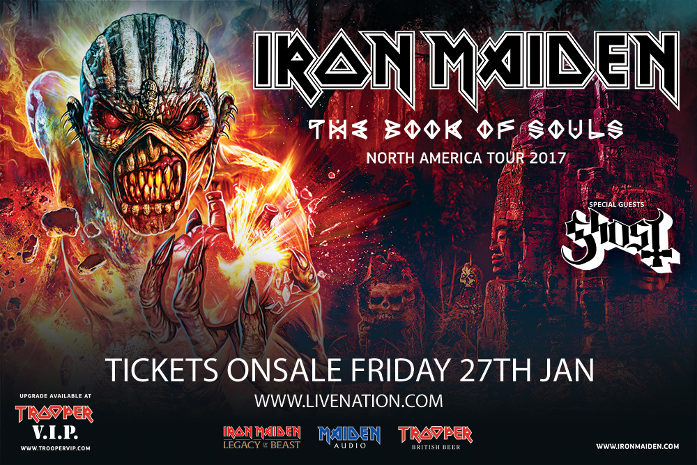 book of souls north america