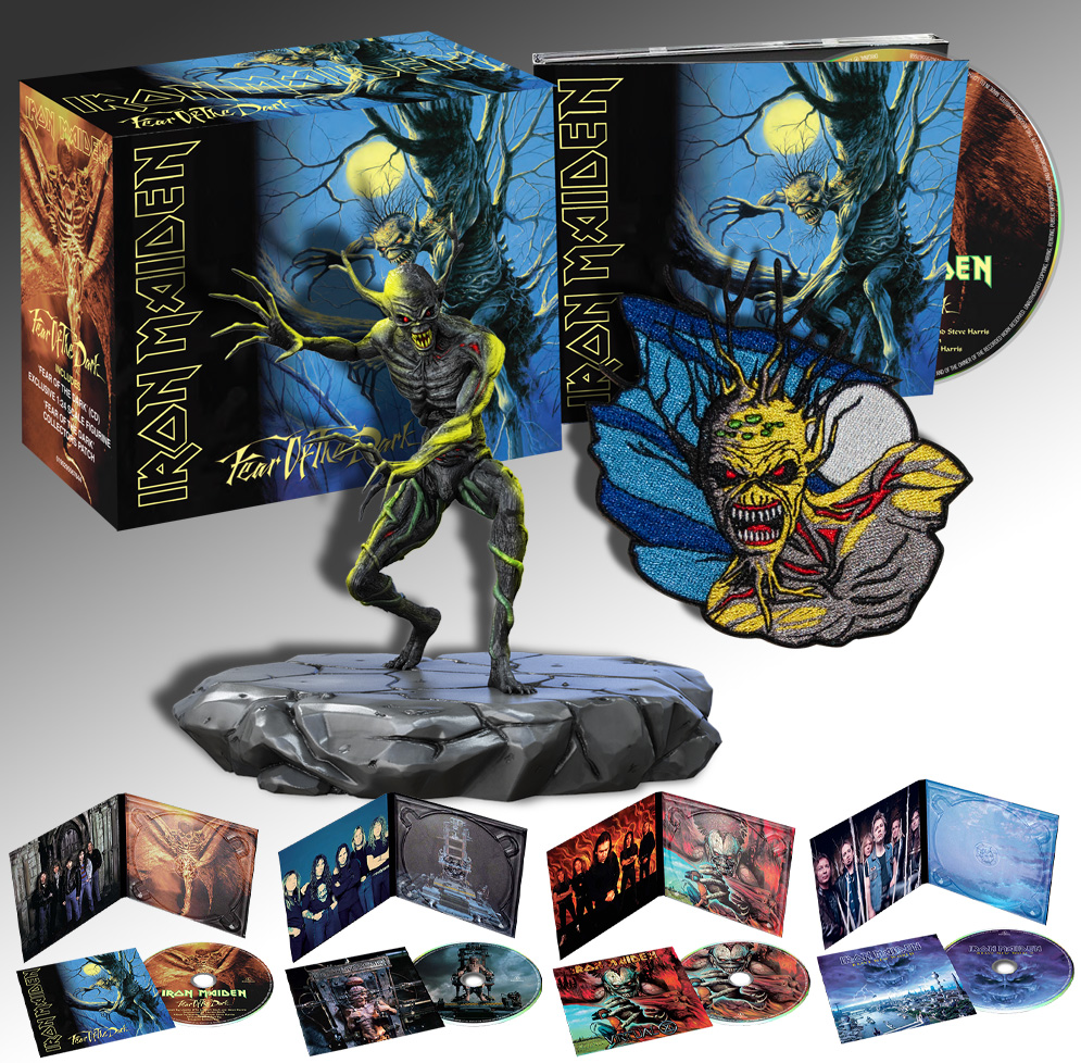 fear of the dark remasters digipack