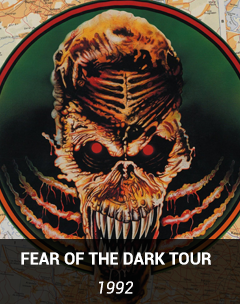 fear of the dark tour 1992 1