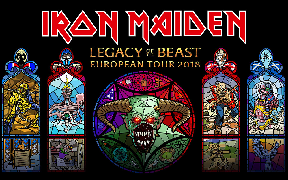 legacy of the beast tour