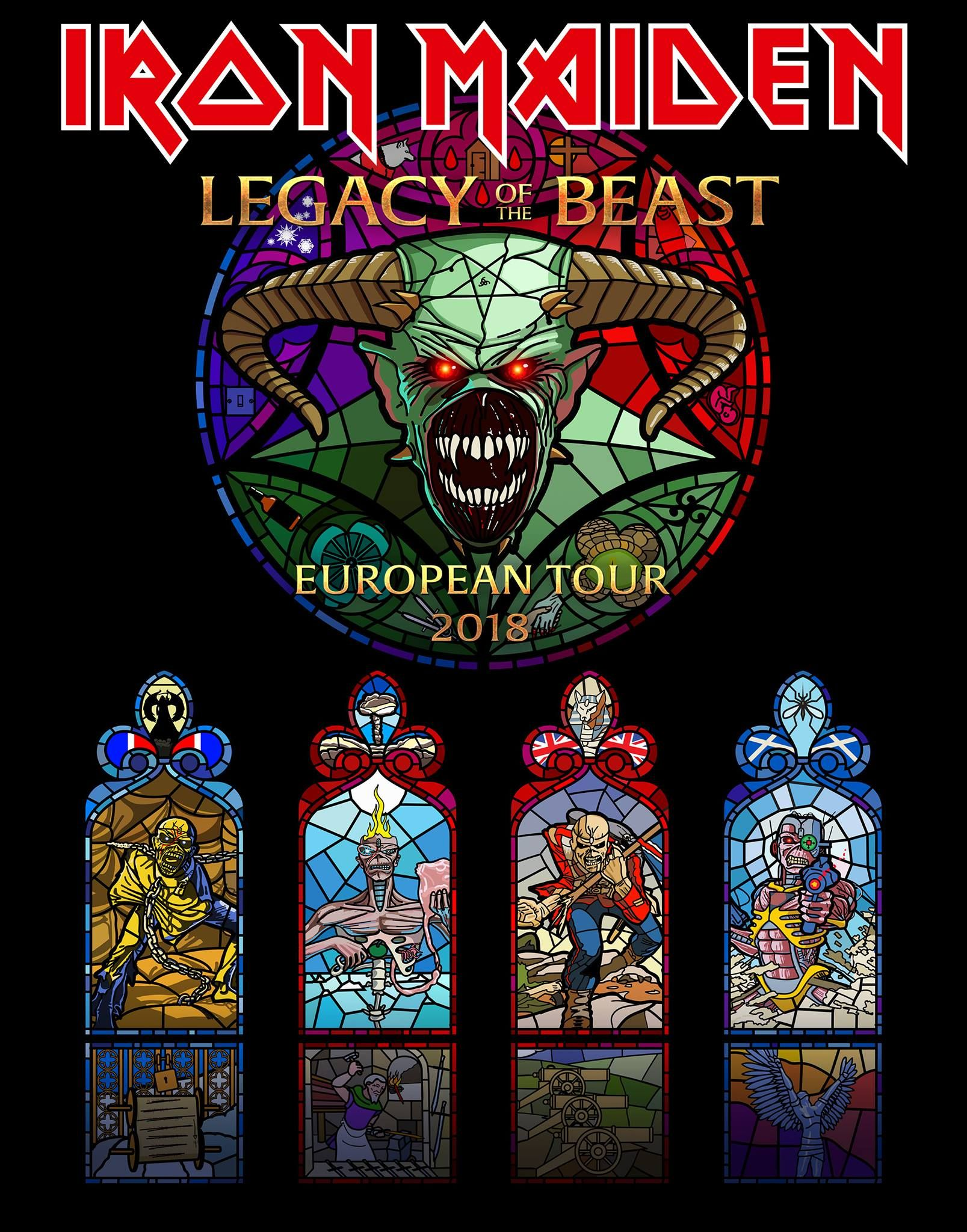 legacy of the beast tour 2018