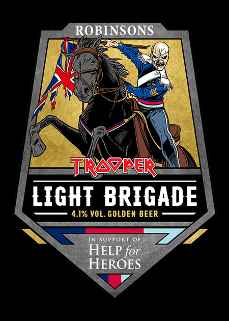 light brigade badge flat