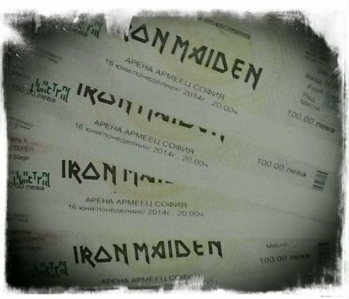 maiden tickets