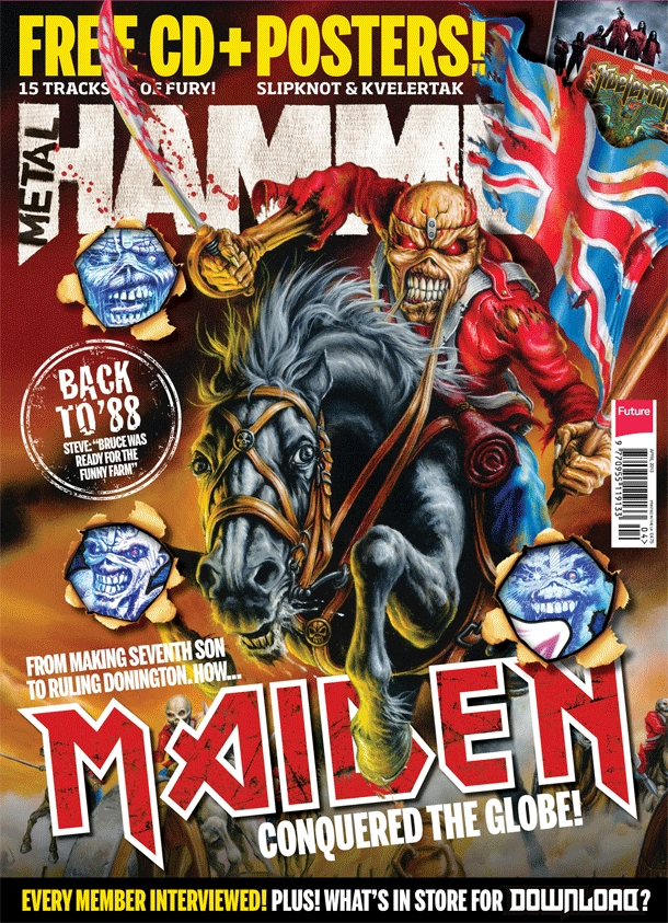 metal hammer 2013 maiden