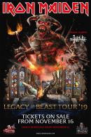 Legacy Of The Beast Tour 2019 Dates Announced