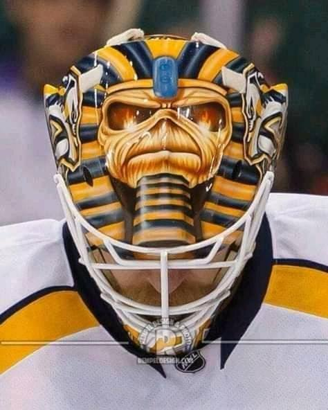 nhl hokey mask iron maiden