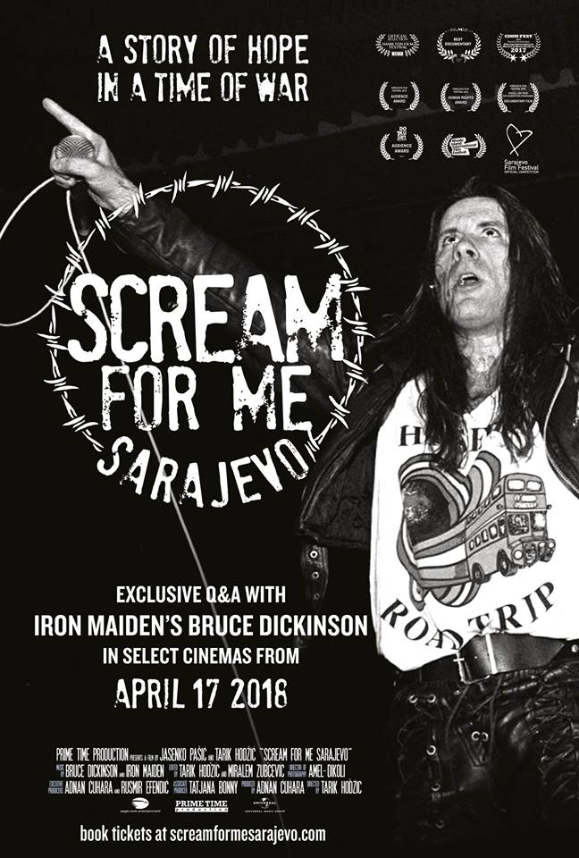 scream for me saraevo poster